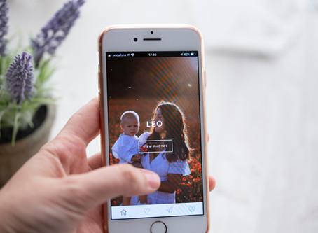 APP per smartphone per racchiudere le vostre immagini!