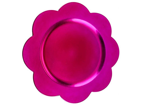 Charger Pink Flower