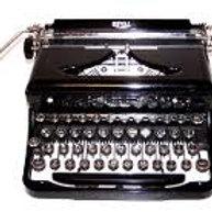 1940 Vintage Typewriter
