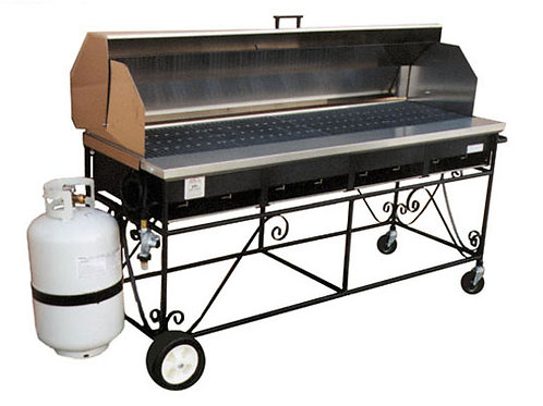 BBQ Roll Top Grill Rental