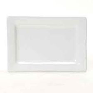Plate Rectangle White