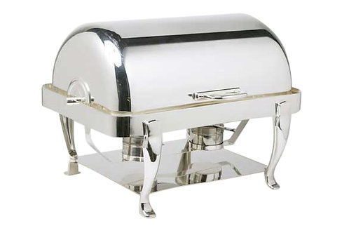 Silver Roll Top Chafer