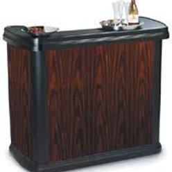 Woodgrain Wet Bar Rental