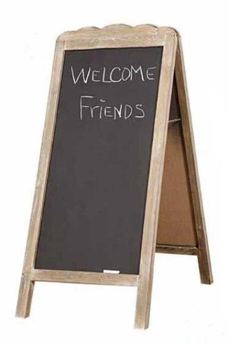 Sign Chalkboard Rental