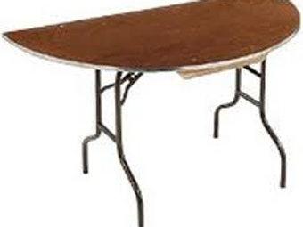 Half Round Table
