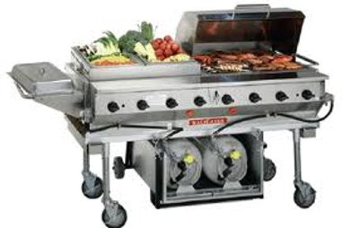 BBQ Griddle and Grill Rental