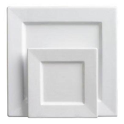 Square Plate White