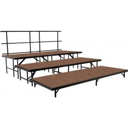 Riser Seating 3 Level Tapered