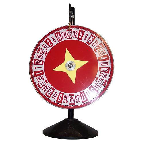Game Spinner Wheel