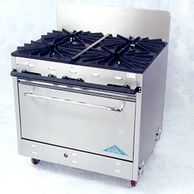 Stove 4 Burner with Oven Propane