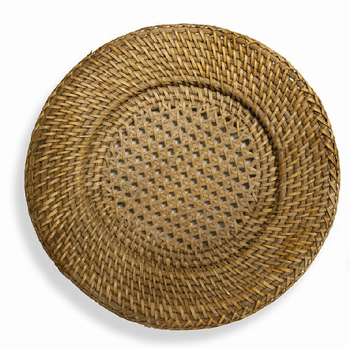 Charger Rattan
