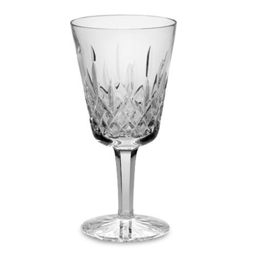 Cut Water Goblet Glass