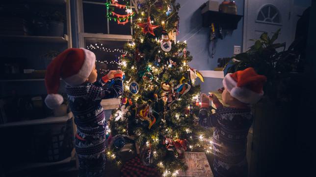 boys christmas tree