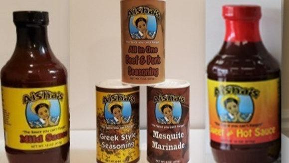 Aisha's All Purpose Sauce & Seasoning Combo