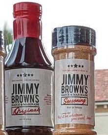 JIMMY BROWN'S SAUCE & SEASONING