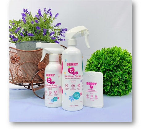 Berry Sanitizer Spray Pack