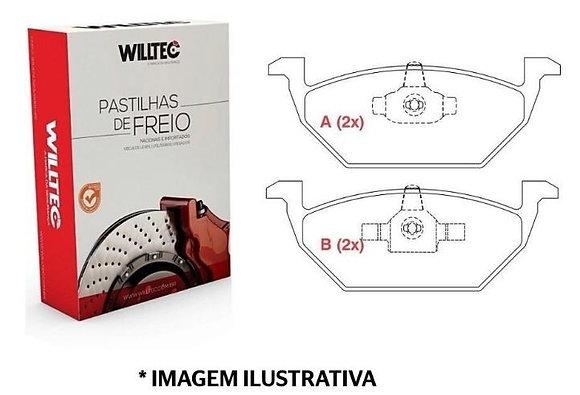 Pastilha de Freio - Virtus / Up / Fox / Space Fox