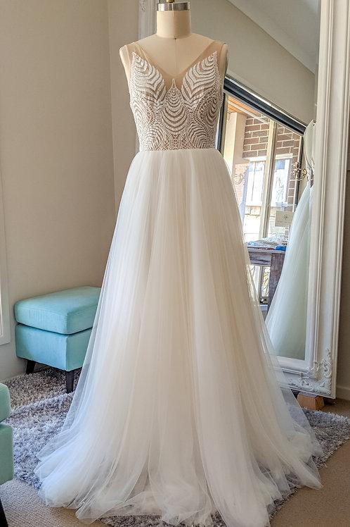 WW 'Eveline' gown size 12