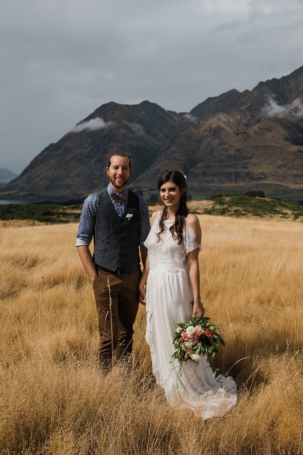 Elopement to New Zealand. Love Me twice Wedding gowns