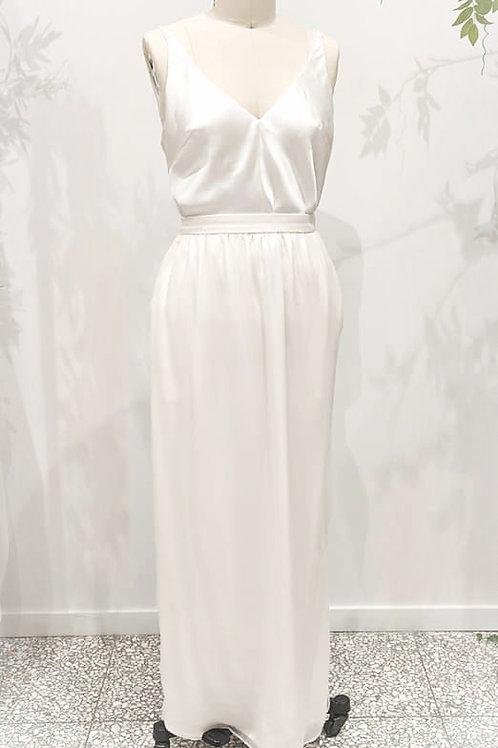 Silk sheath, Georgette skirt & Camisole size 12