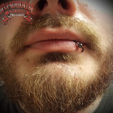 Lip Piercing
