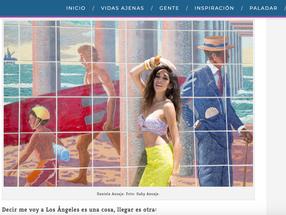 Daniela Azuaje: Una renacentista quiere conquistar L.A