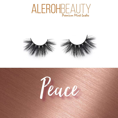 """Peace"" 3d Mink Lashes"