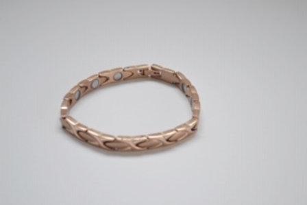 Rose Gold Ladies Magnetic titamium Bracelet