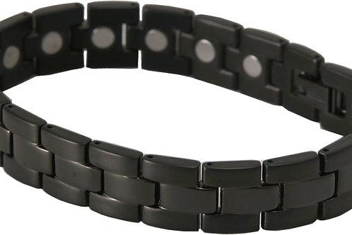 SBP1673 Black Titanium Magnetic Bracelet