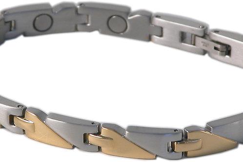 SBP1083 Ladies Stainless Steel Silver & Gold Magnetic Braclet