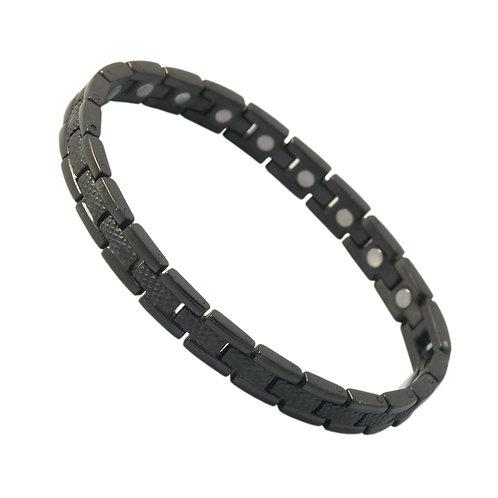 SBP1713 Ladies Stainless Steel Black Magnetic Bracelet