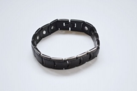 Men's Black Titanium Bracelet