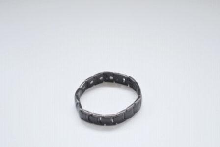 Men's Titanium Black Bracelet