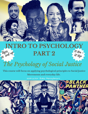 Intro to Psychology - Part 2 - Spring 20