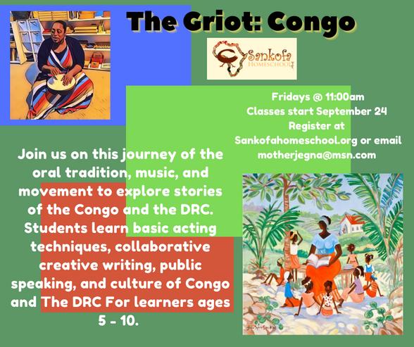 Griot: CONGO - Fall 2021