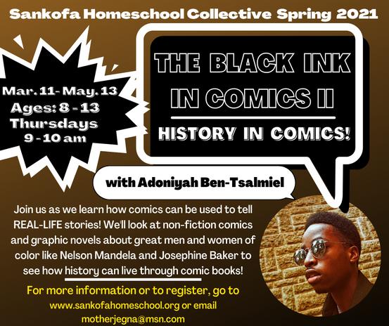 The Black Inc in Comics