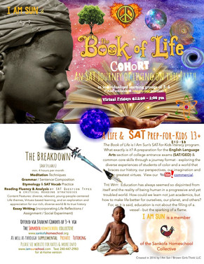 Book of Life SAT - Fall 2021