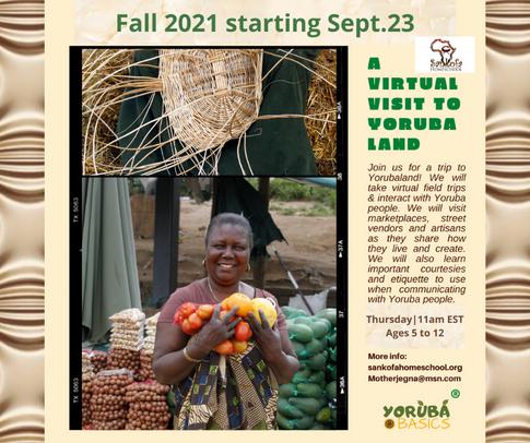 Yoruba - Fall 2021