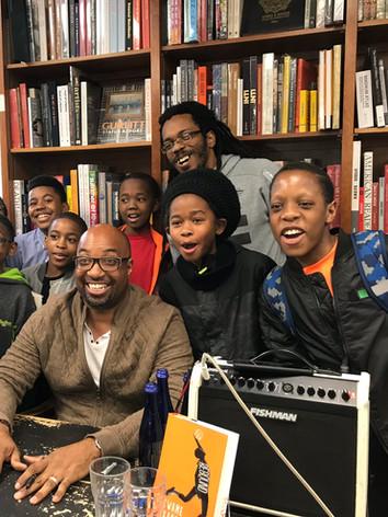 Kwame Alexander Book Tour