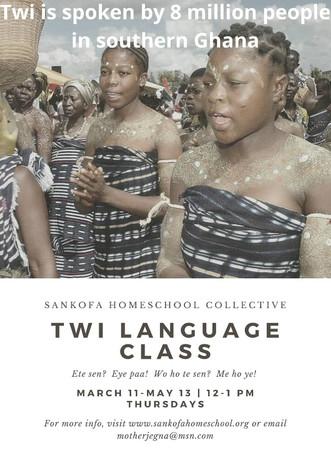 Twi Language Class
