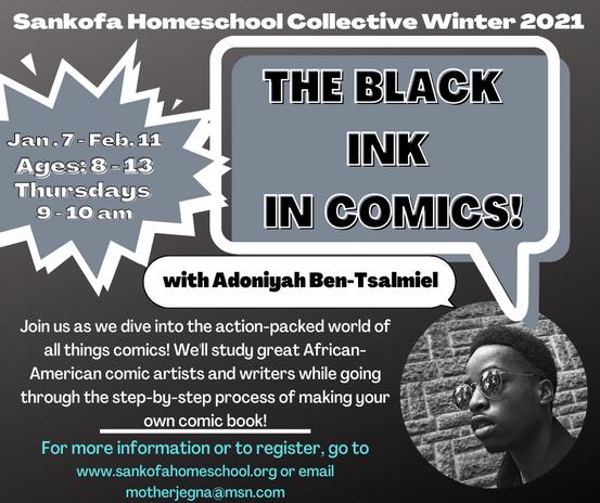 The Black Ink In Comics