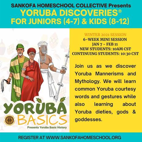 Yoruba Studies (African Language)