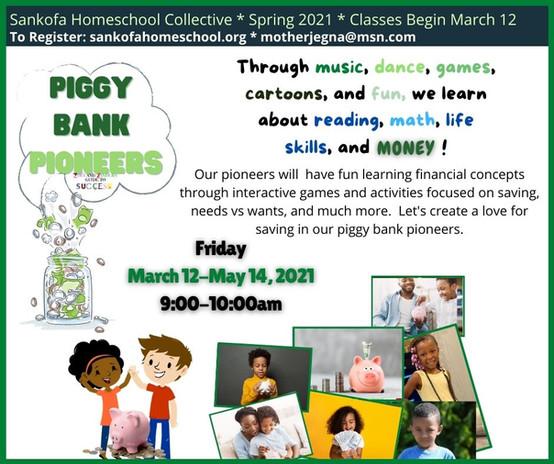 Piggy Bank Pioneers