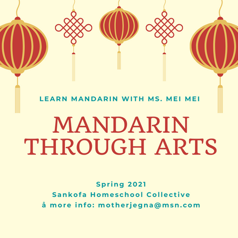 It's Mandarin through Arts