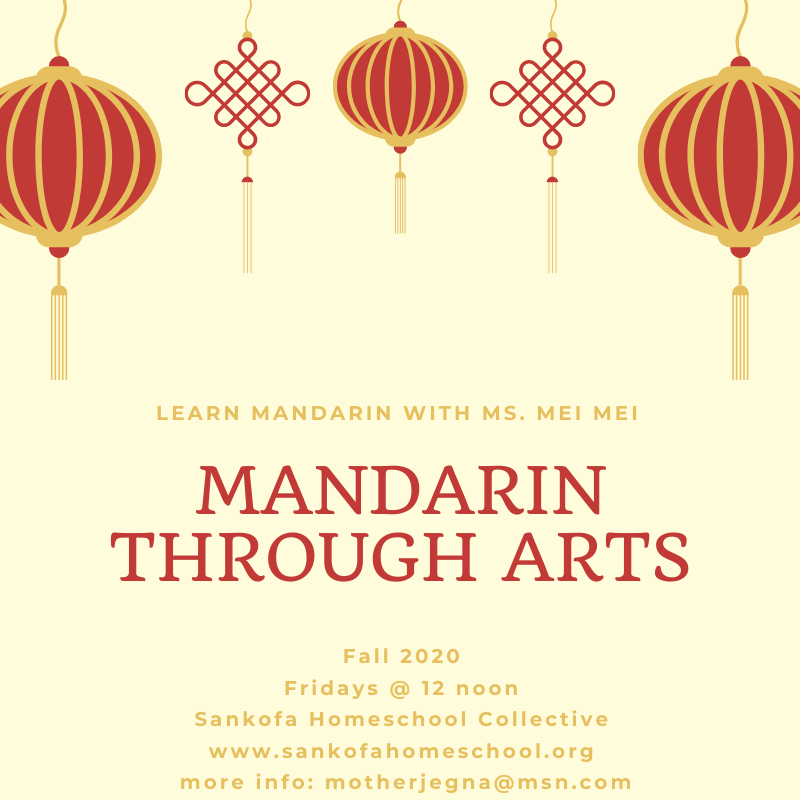 Mandarin through Arts