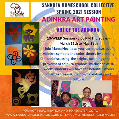 Adinrkra Art Painting