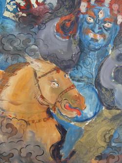 Arte Cavalos Tiffani Gyatso