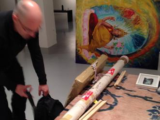 """Exposição """"Sublime Worlds"""" Tibet House, NY"""