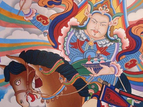 Tiffani Gyatso buddhist painting