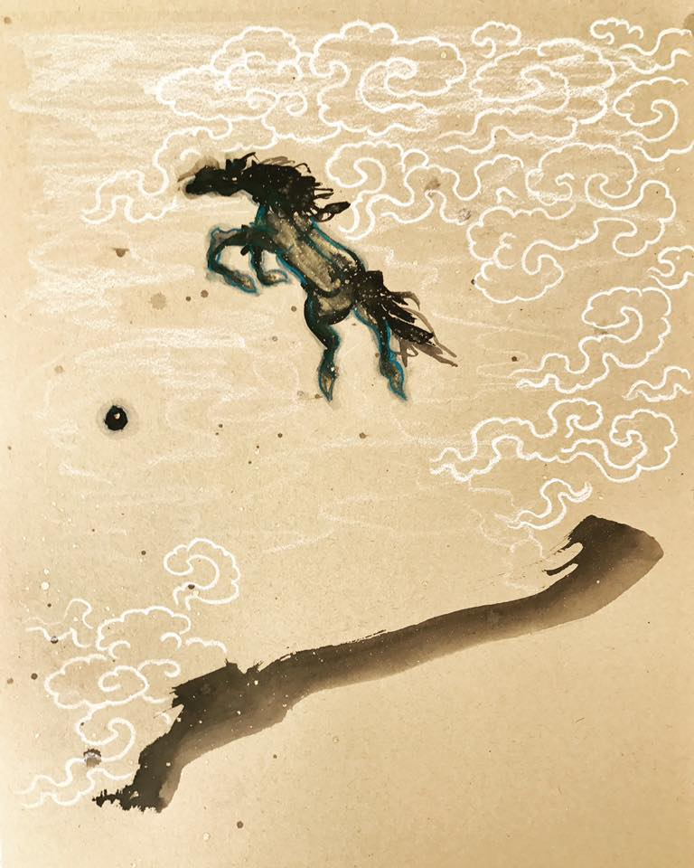 Tiffani Gyatso intuitive painting